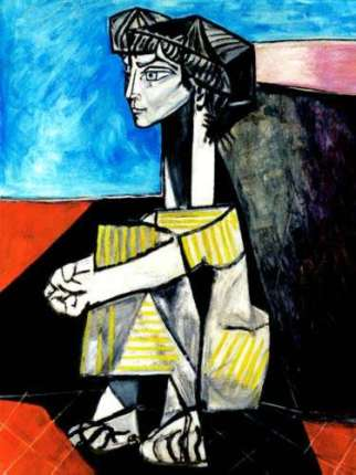 #11 PORTRAIT OF JACQUELINE ROQUE Pablo Picasso Estate Signed Giclee