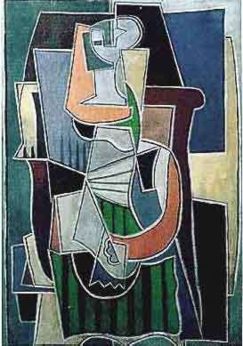 #142 ABSTRACT Pablo Picasso Estate Signed Giclee