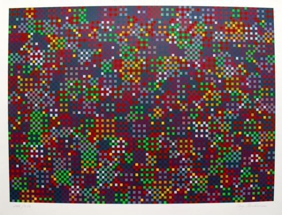 Tony Bechara 151 COLORS Hand Signed Limited Ed. Serigraph
