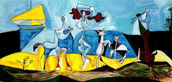 #31 JOY OF LIVING Pablo Picasso Estate Signed Giclee