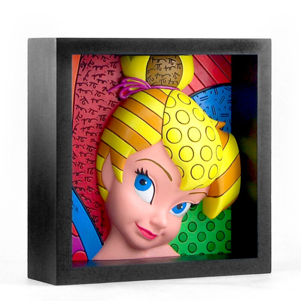 Disney Romero Britto Tinker Bell Pop Art Block