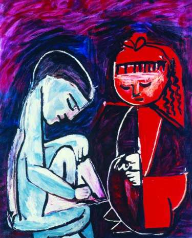 #73 MAYA PLAYING Pablo Picasso Estate Signed Giclee