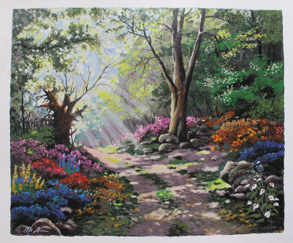 ANATOLY METLAN RAYS OF SUNSHINE Hand Signed Limited Edition Serigraph