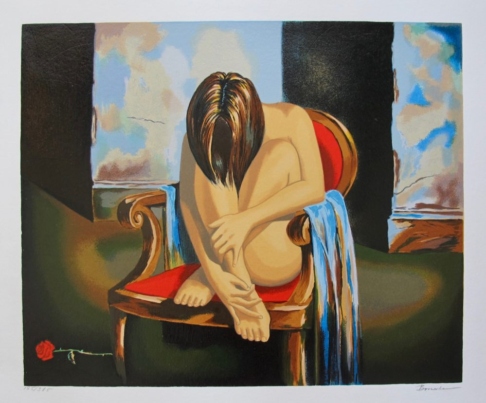 Alexander Borewko SENSUAL MOMENTS Hand Signed Limited Edition Serigraph