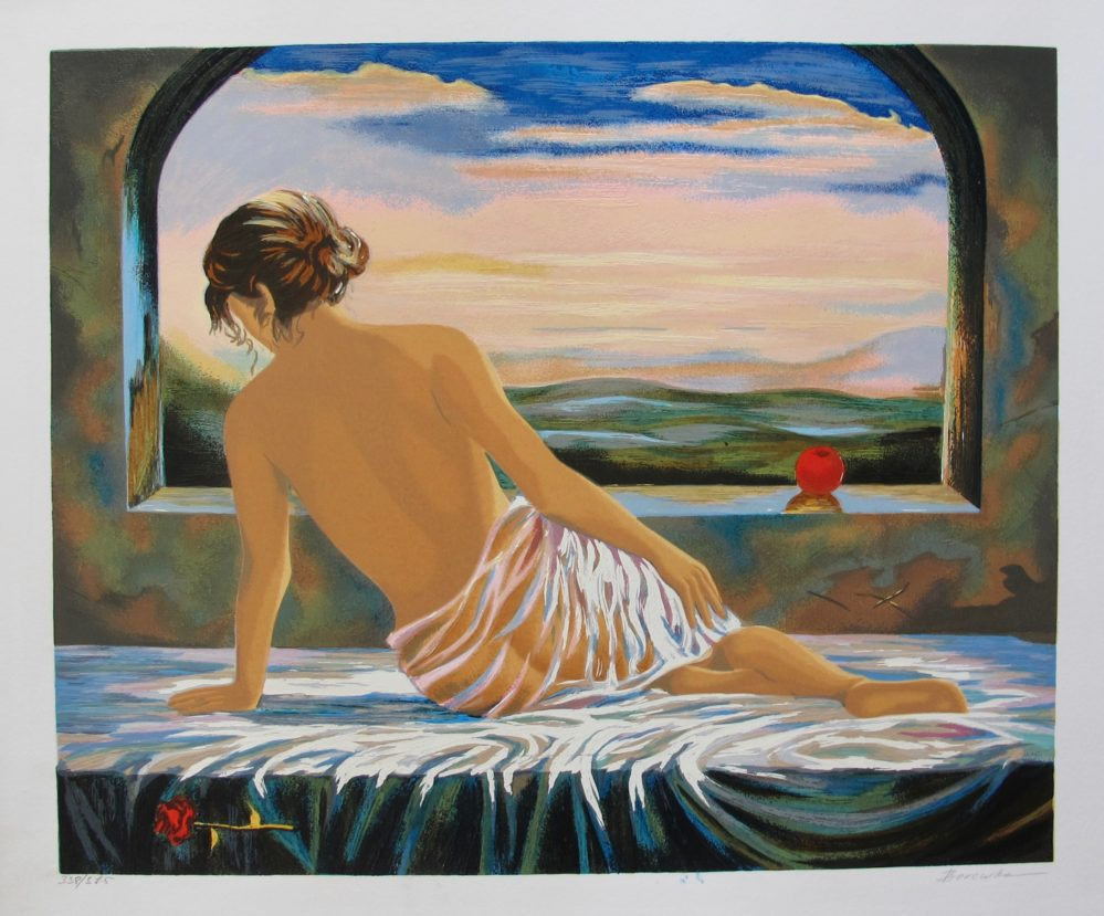 Alexander Borewko SWEET MOMENTS Hand Signed Limited Edition Serigraph