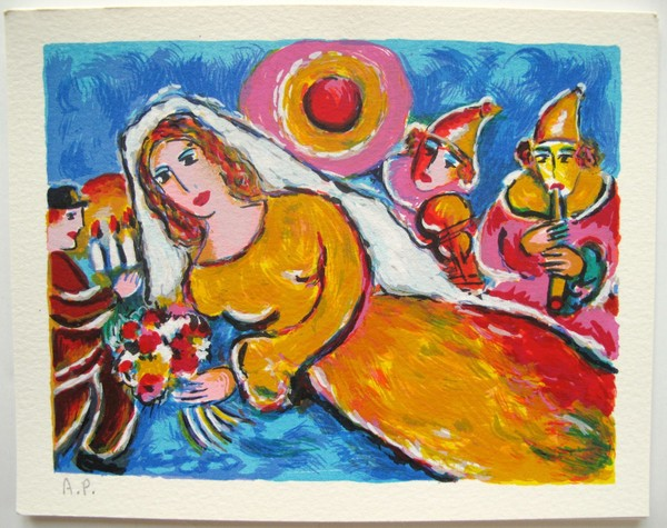 Zamy Steynovitz THE BRIDE Limited Edition Lithograph