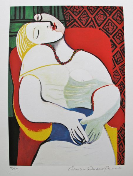 Pablo Picasso THE DREAM Estate Signed Limited Edition Small Giclee
