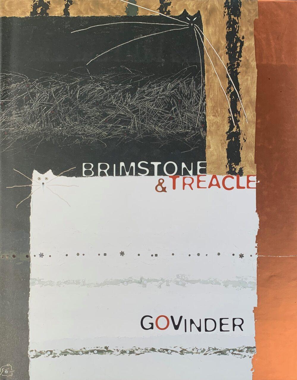 Govinder Nazran Brimstone & Treacle Collectible Art Book