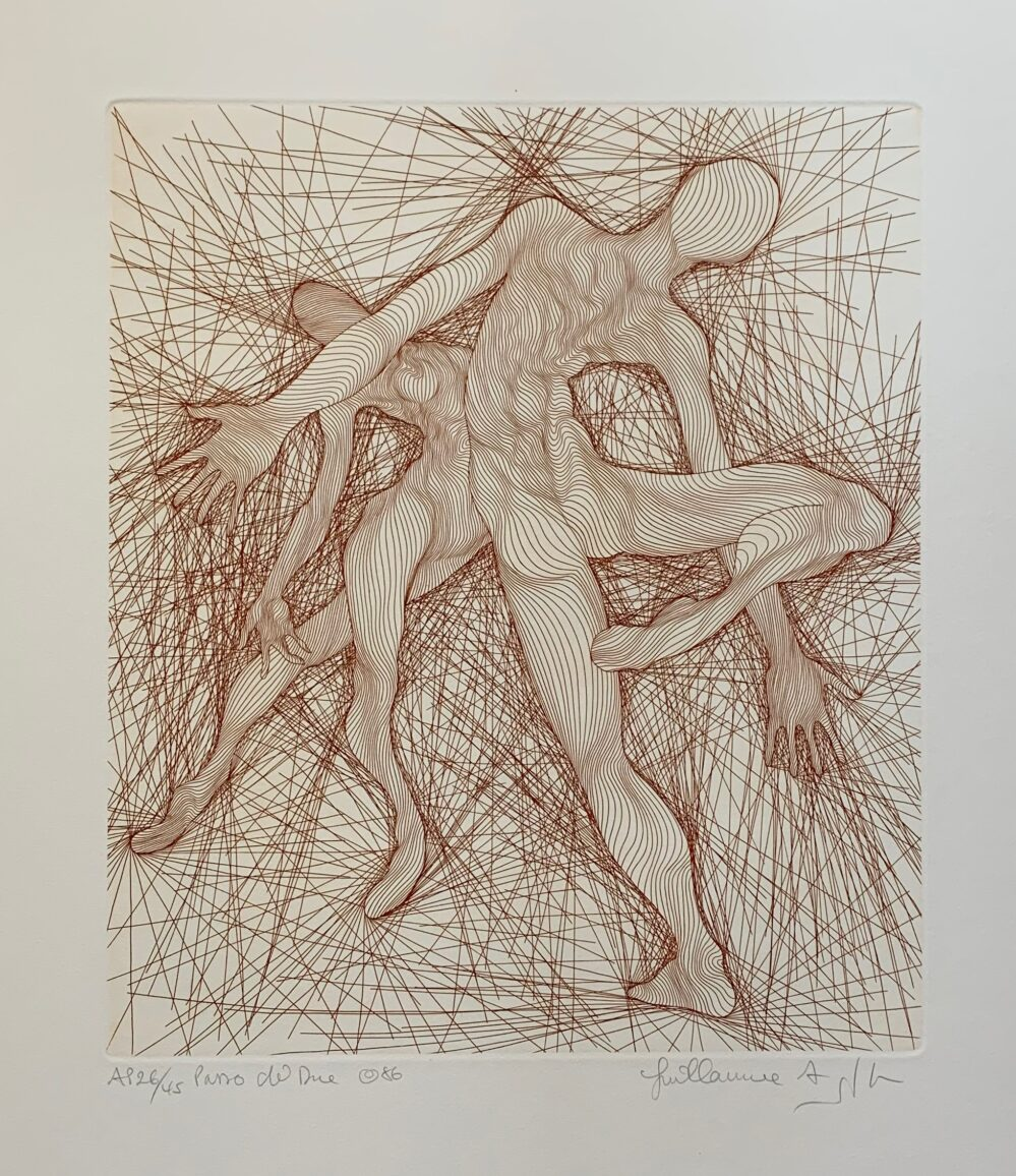 Guillaume Azoulay PASSO DI DUE Hand Signed 1986 Limited Edition Etching