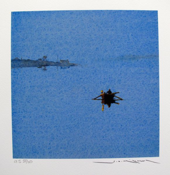 Ged Mitchell HEADING HOME Hand Signed Limited Edition Giclee