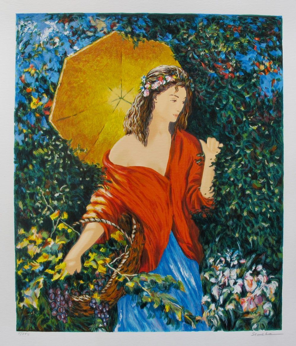 IGOR SEMEKO AFTER THE RAIN Hand Signed Limited Edition Serigraph