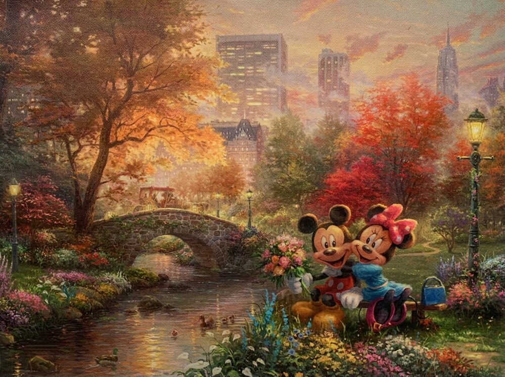 Thomas Kinkade DISNEY Mickey Mouse
