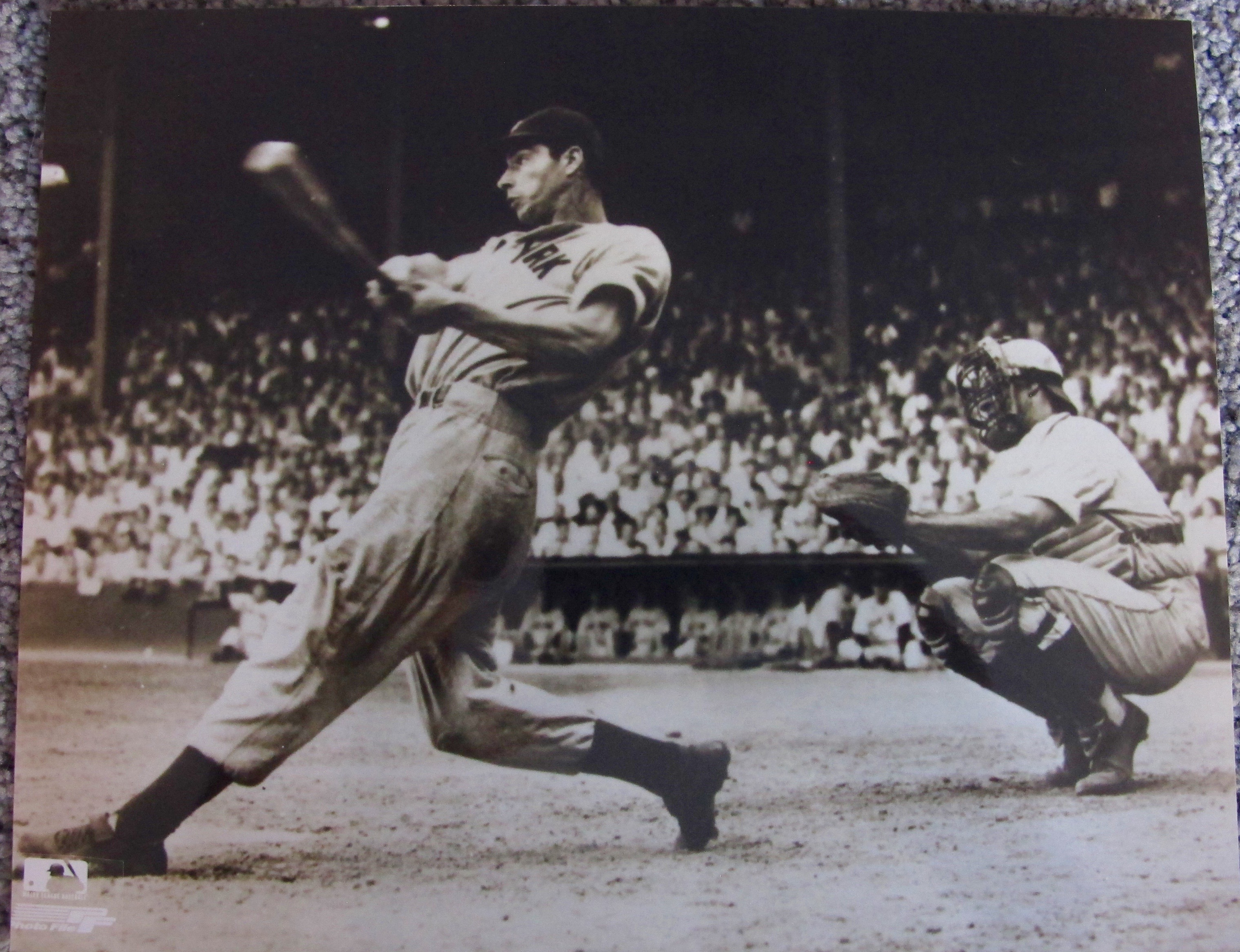 Joe Dimaggio Silver Gelatin Photo