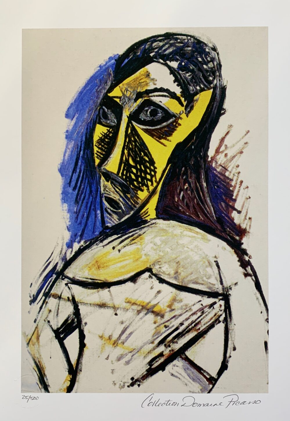 Pablo Picasso FEMALE NUDE STUDY Estate Signed Limited Edition Small Giclee