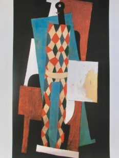 #51 HARLEQUIN Pablo Picasso Estate Signed Giclee