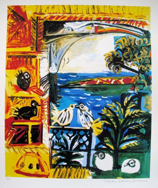 #20 THE PIGEONS Pablo Picasso Estate Signed Giclee