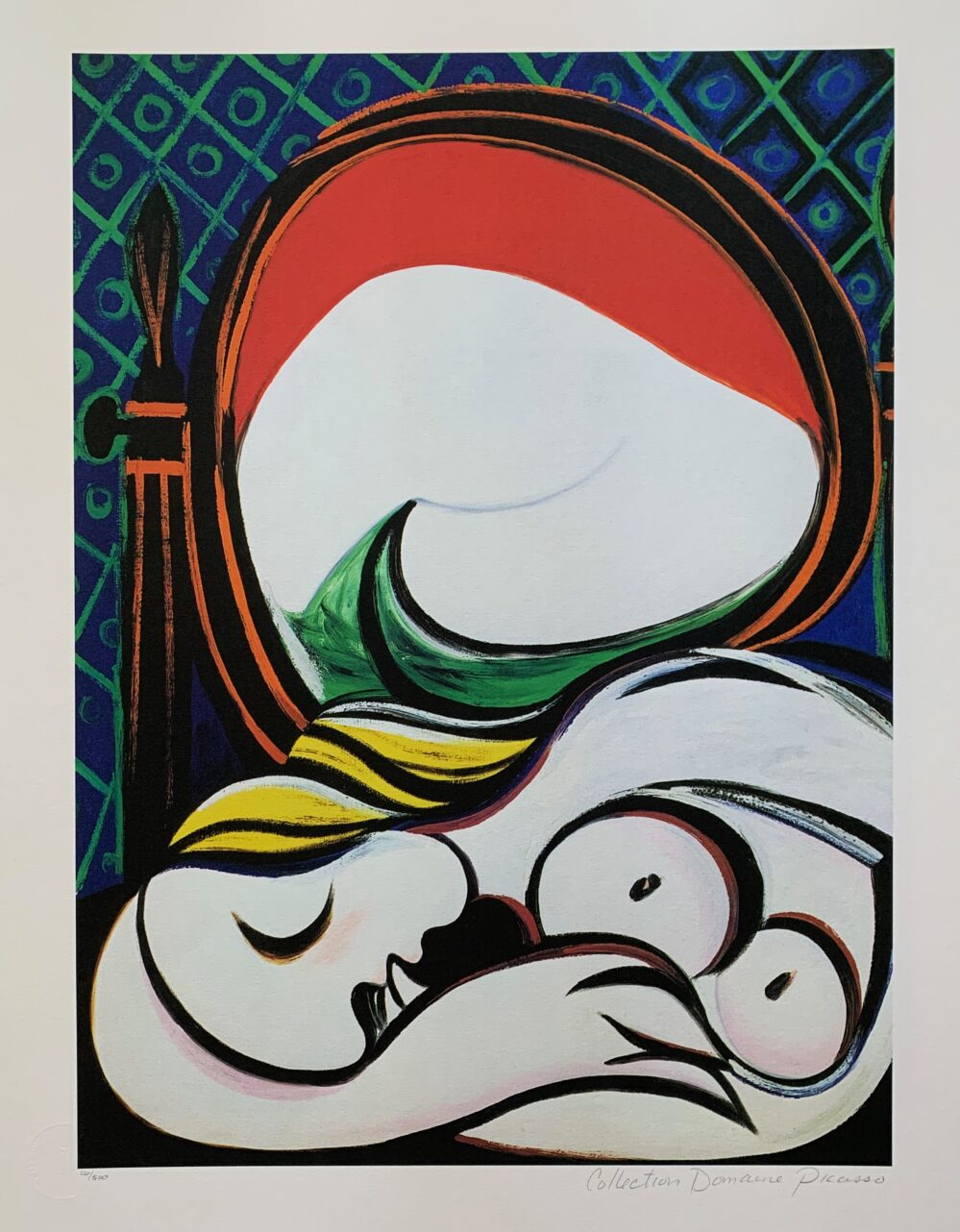 #085 SLEEPING NUDE Pablo Picasso Estate Signed Giclee
