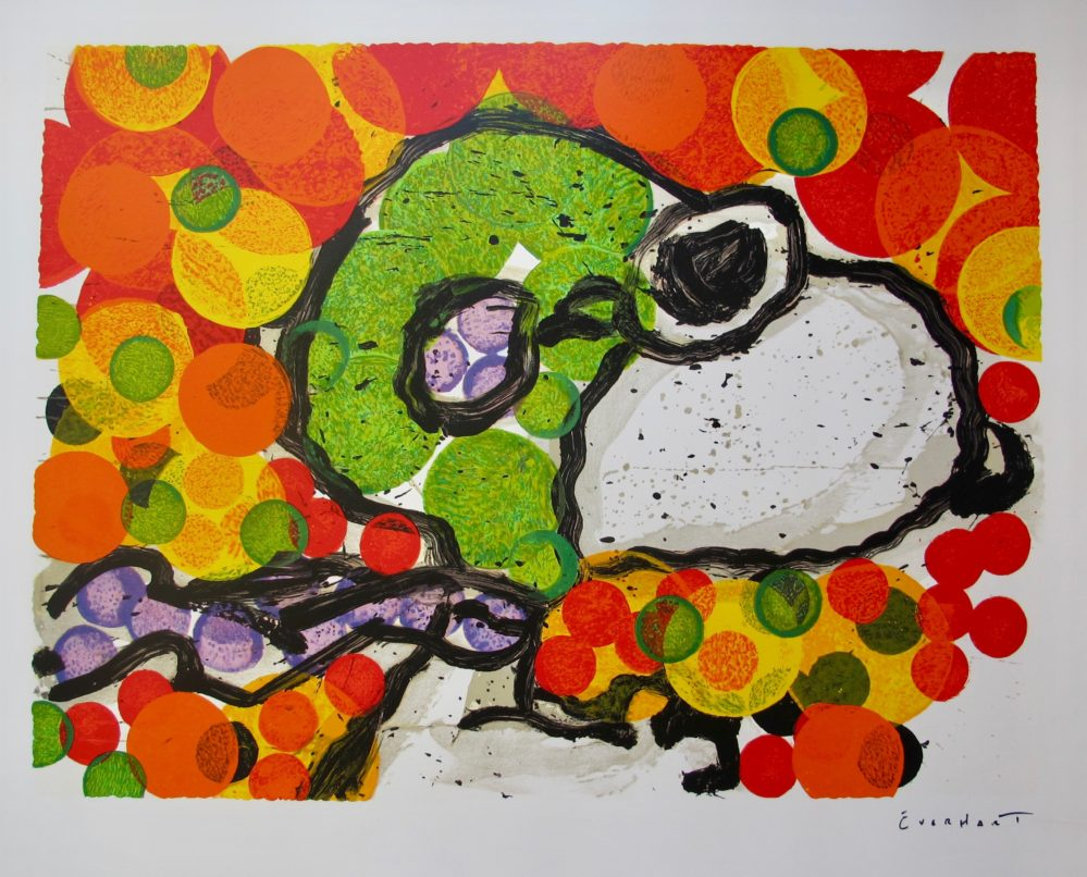 Tom Everhart Synchronize My Boogie Afternoon Hand Signed Lithograph