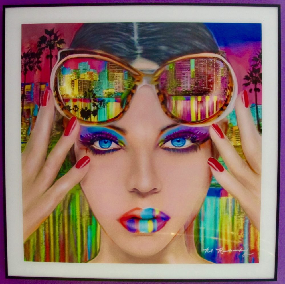 Marc Rudinsky Miami Nights Lenticular