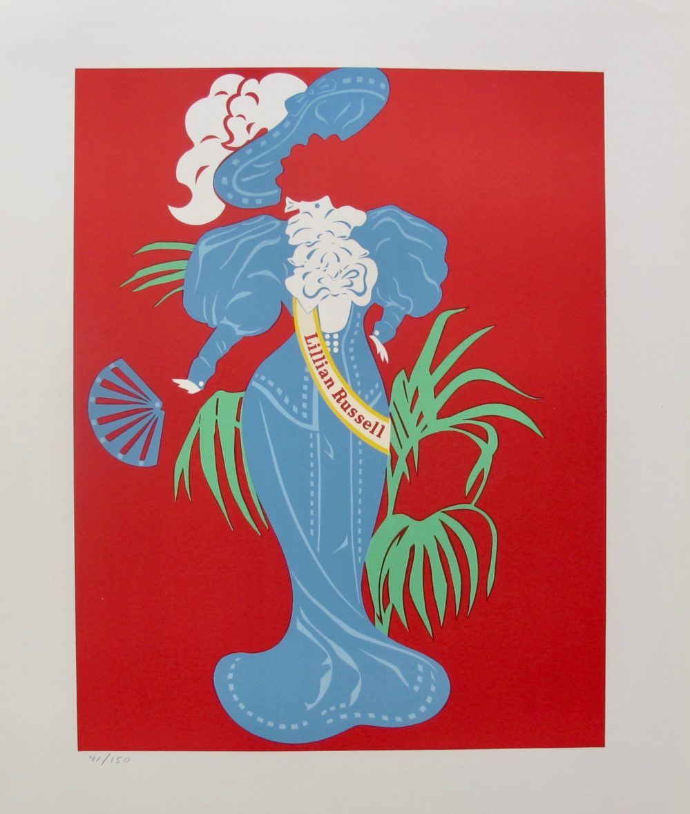 Robert Indiana LILLIAN RUSSELL 1977 Limited Edition Lithograph