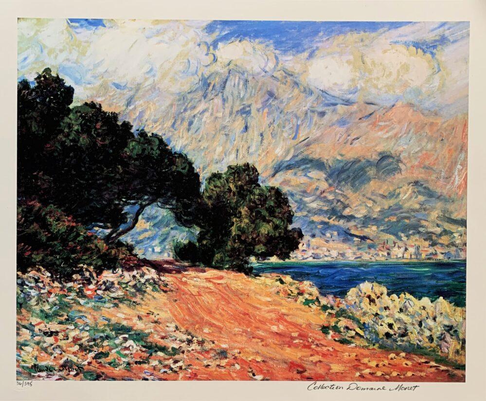 Claude Monet CAP MARTIN