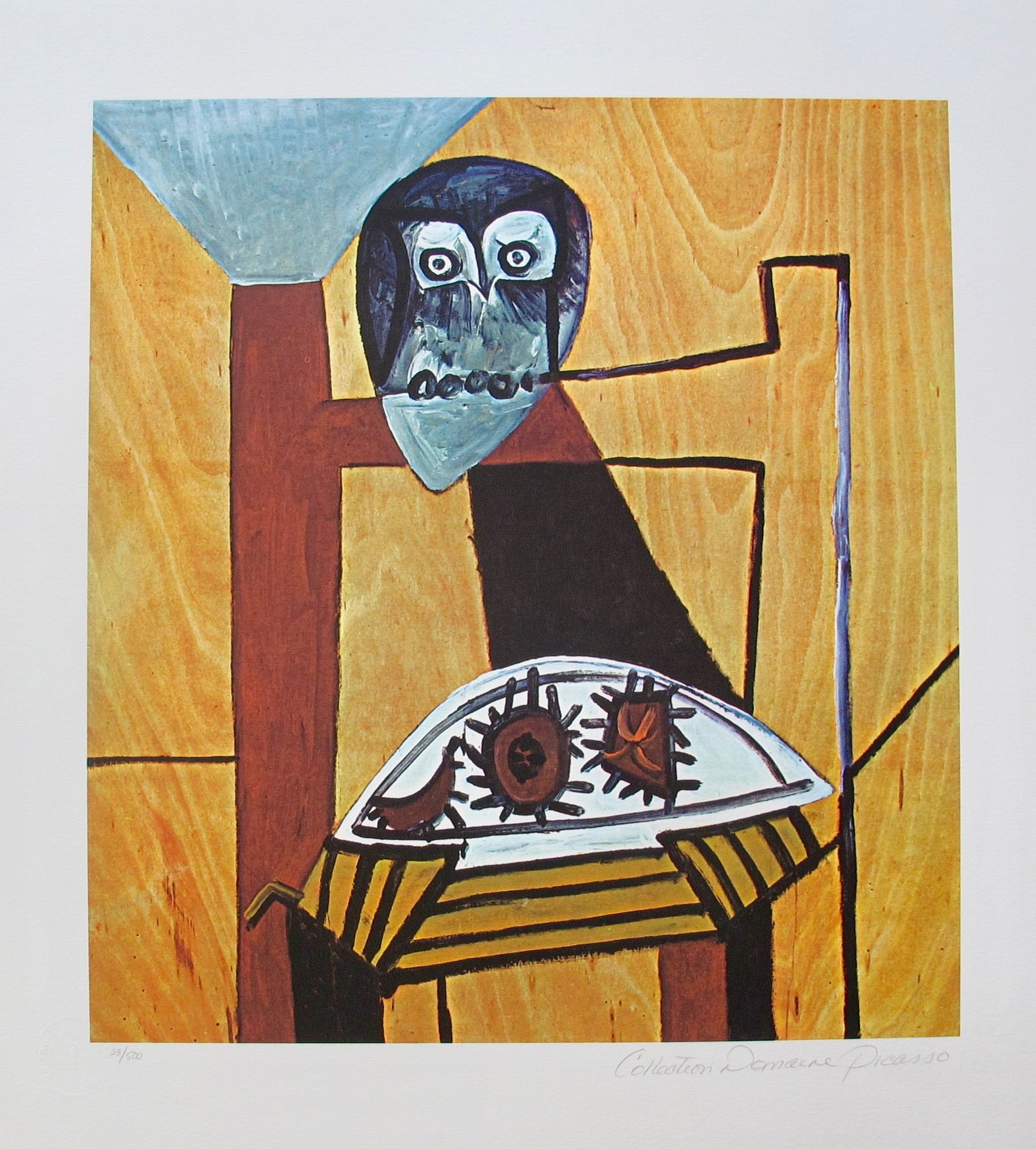 #37 THE OFFERING Pablo Picasso Estate Signed Giclee