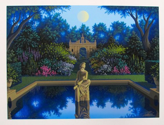 Jim Buckels VALE OF ENNA Hand Signed Limited Edition Serigraph