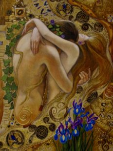 IRINA VITALIEVNA KARKABI Passion Hand Signed Limited Edition Giclee on Canvas