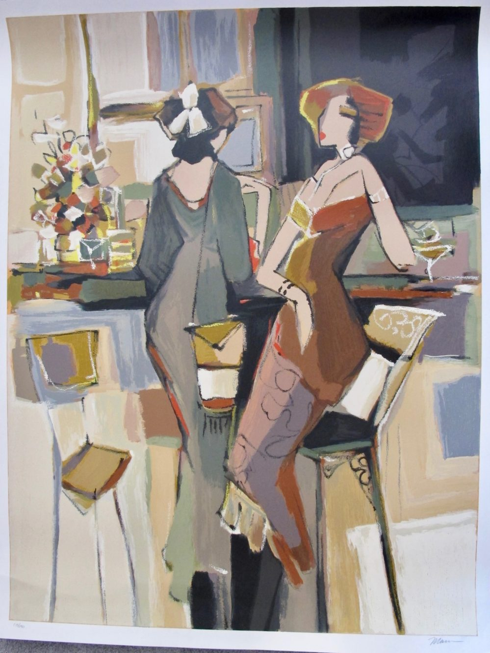 ISAAC MAIMON SALUTE Hand Signed Limited Edition Large Serigraph