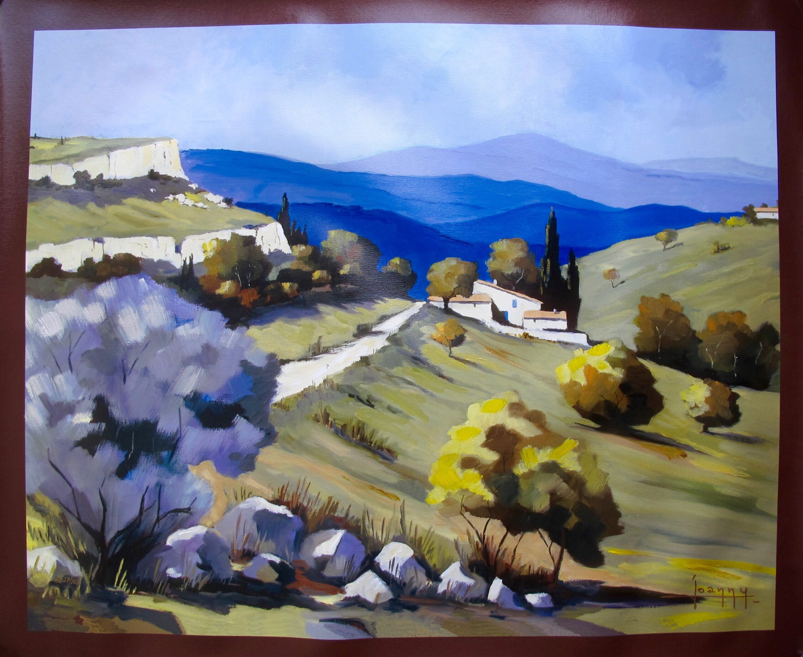 Joanny ORCHARD OF VALLON Hand Signed Limited Edition Giclee