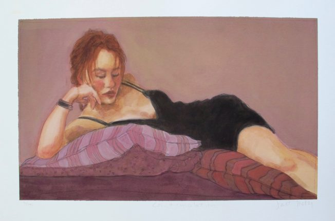 Janet Treby CONTEMPLATION Hand Signed Limited Edition Giclee