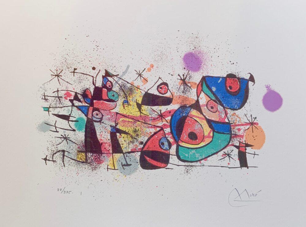 Joan Miro CERAMIQUES Facsimile Signed Limited Edition Giclee