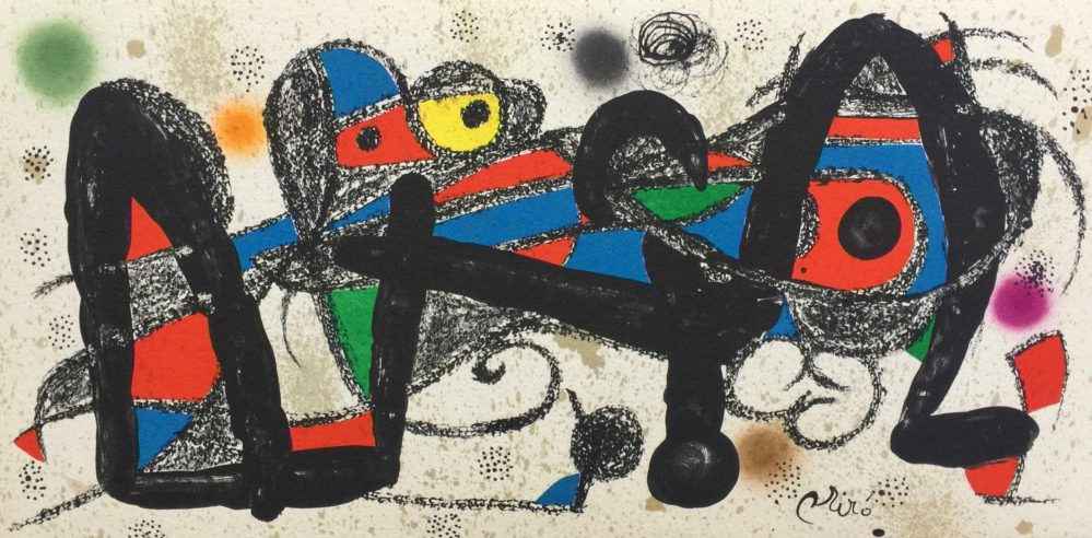 Joan Miro ESCULTOR SUITE PORTUGAL Lithograph