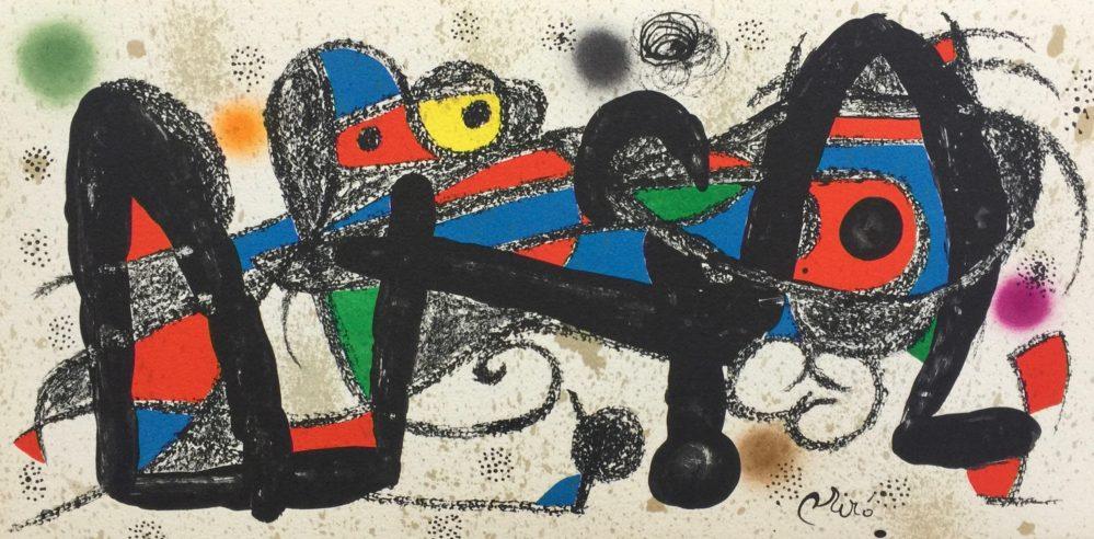 Joan Miro ESCULTOR SUITE PORTUGAL Lithograph