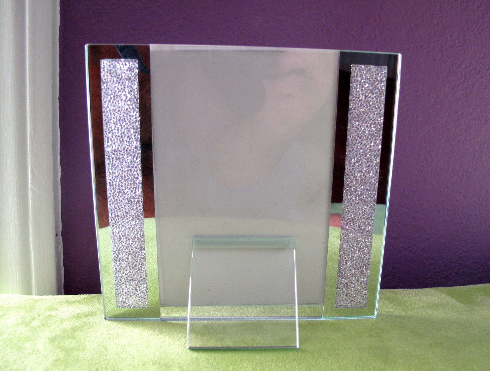 Swarovski Crystal Filled Picture Frame for 4\