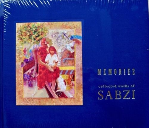 Sabzi MEMORIES Coffee Table Color Art Book