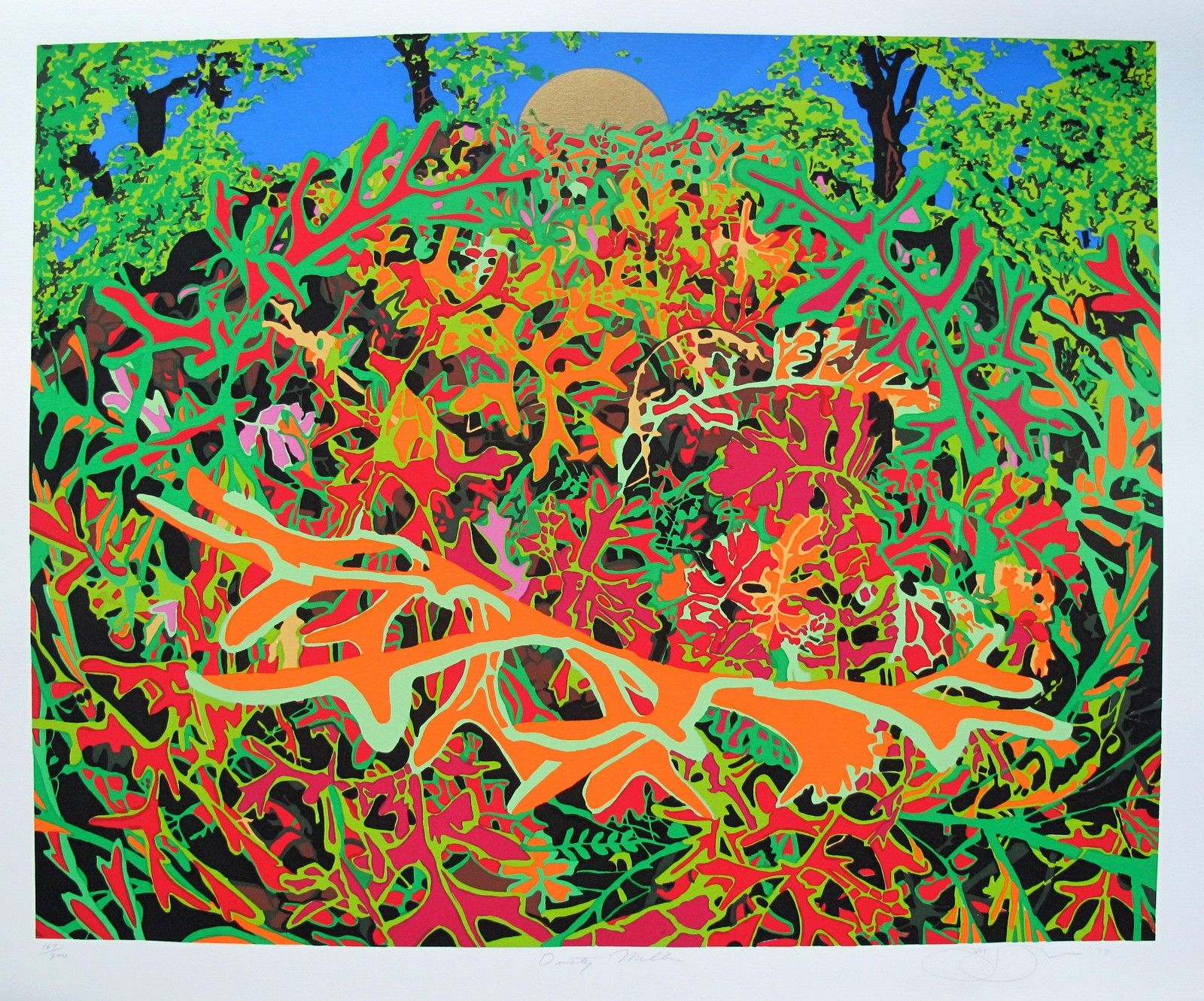 Jon D'Orazio DUSTY MILLER Hand Signed Limited Edition Serigraph
