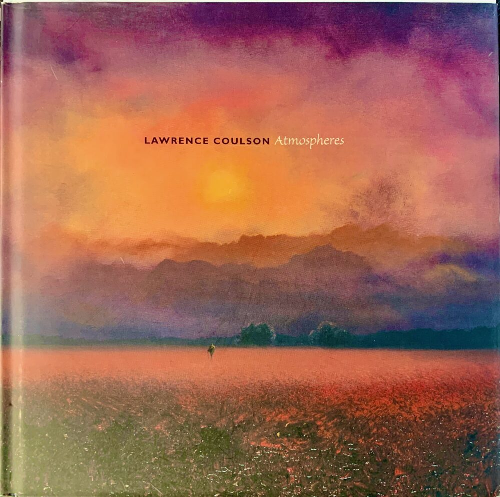 Atmospheres by Lawrence Coulson Collectible Hardcover Art Book
