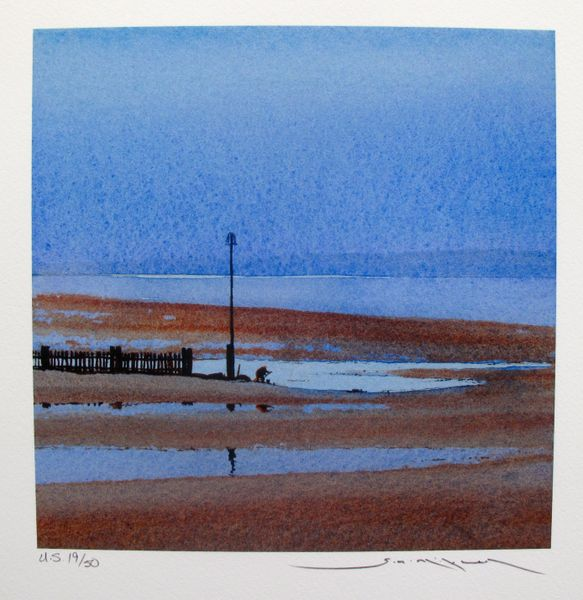 Ged Mitchell LOW TIDE Hand Signed Limited Edition Giclee