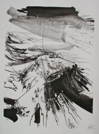 Raymond Moretti MASADA Hand Signed Limited Edition Lithograph