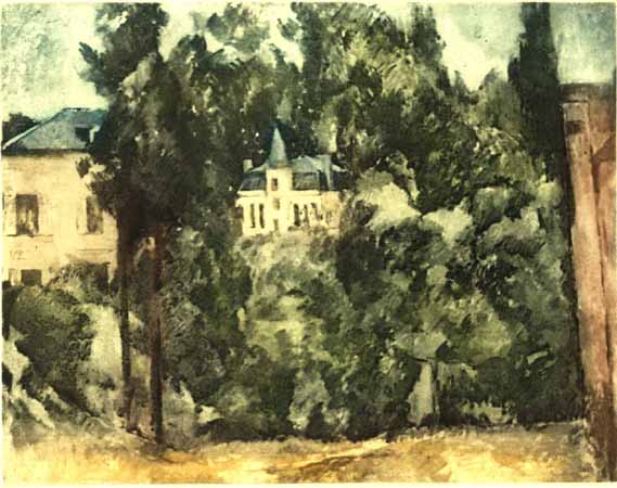 Paul Cezanne MAISON ET PAYSAGE Ambroise Vollard Estate Etching