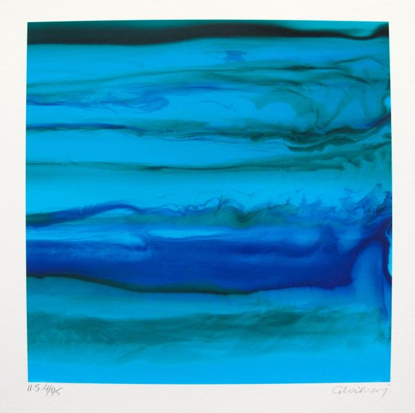 Gloria Marojevic OCEAN I Limited Edition Hand Signed Giclee