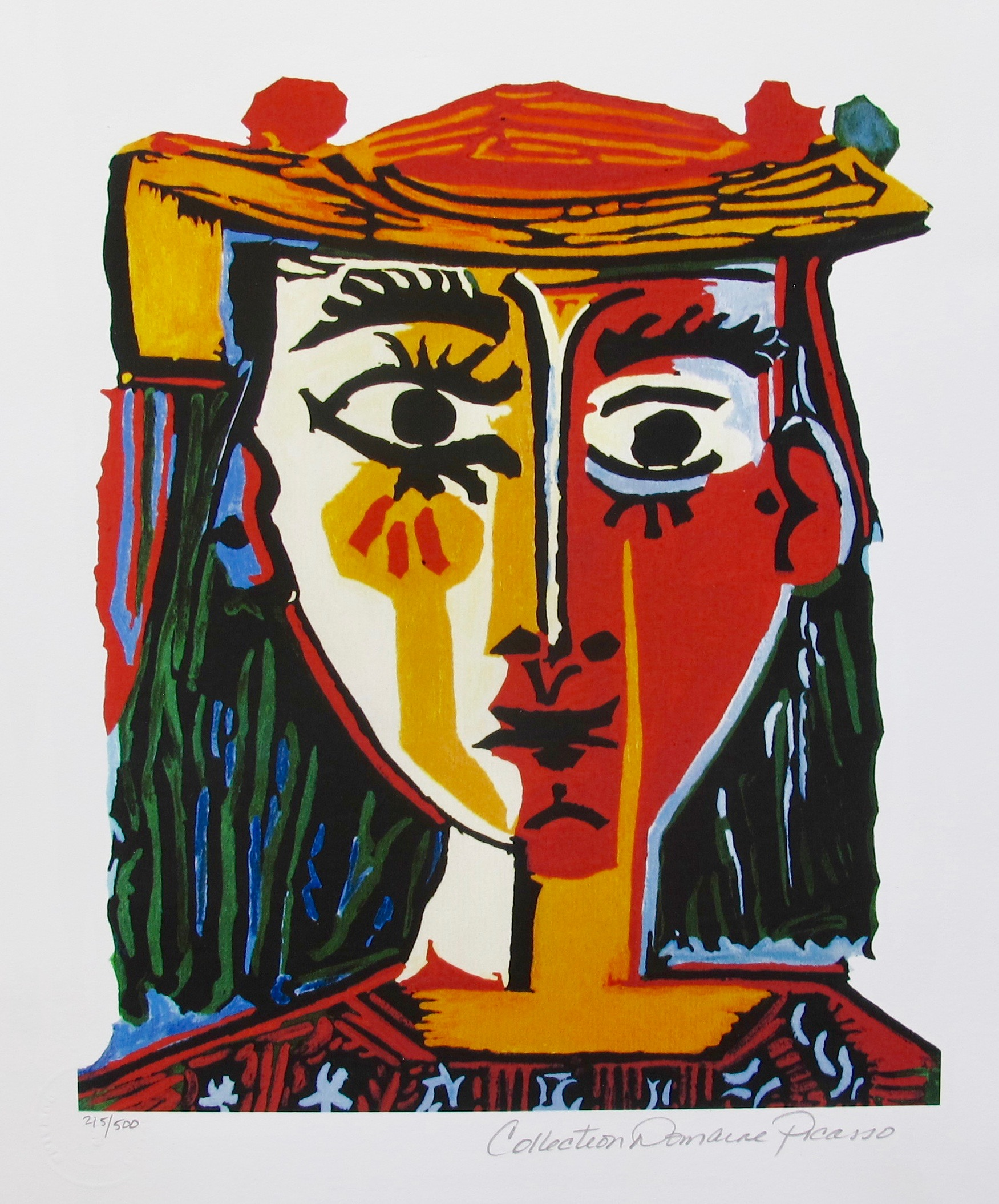 Pablo Picasso Bust of a Woman med