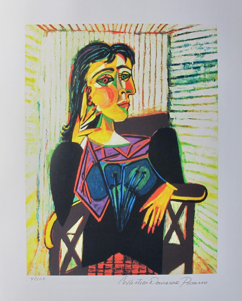Pablo Picasso DORA MAAR Estate Signed Limited Edition Giclee