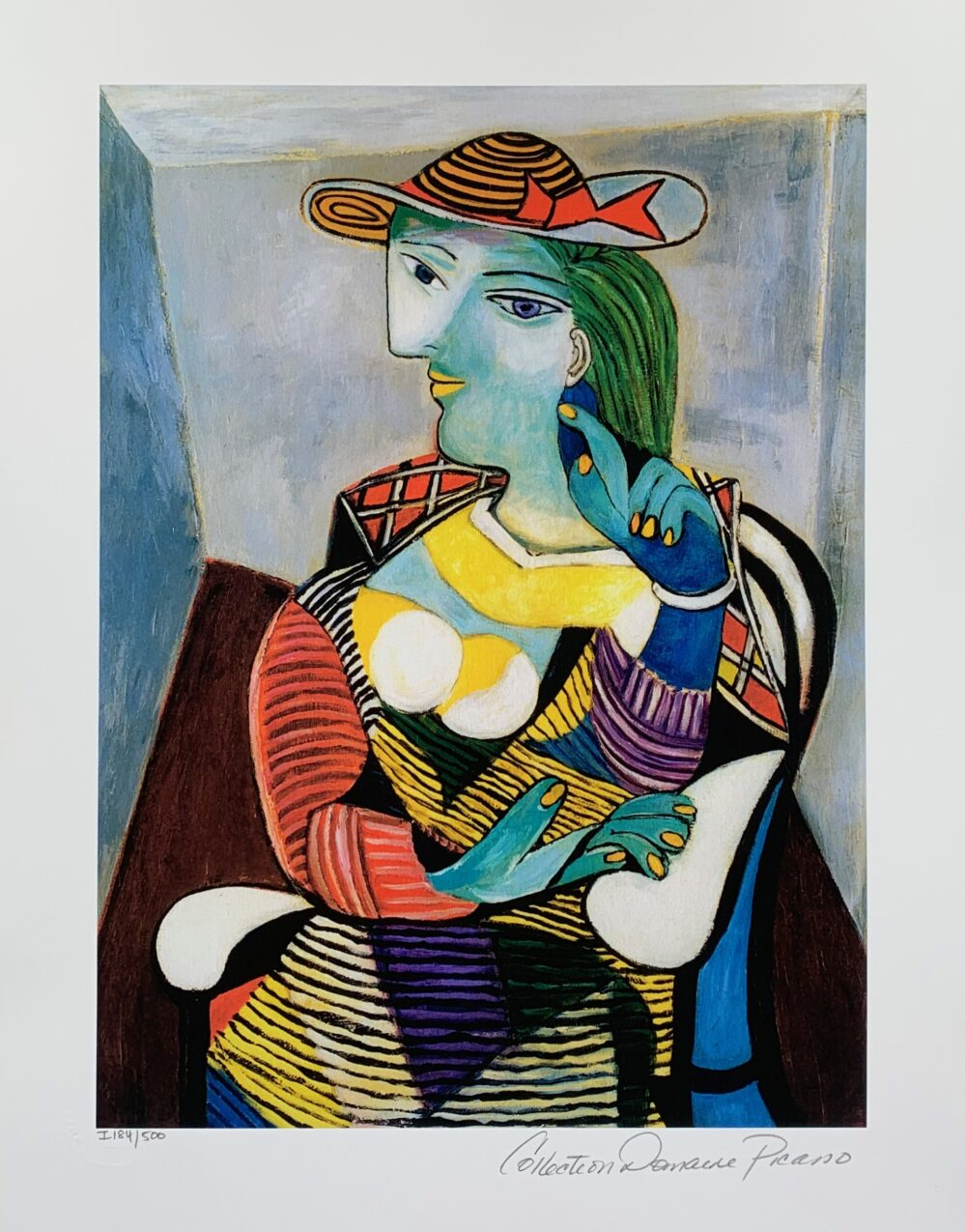 Pablo Picasso MARIE THERESE WALTER Estate Signed Limited Edition Medium Giclee