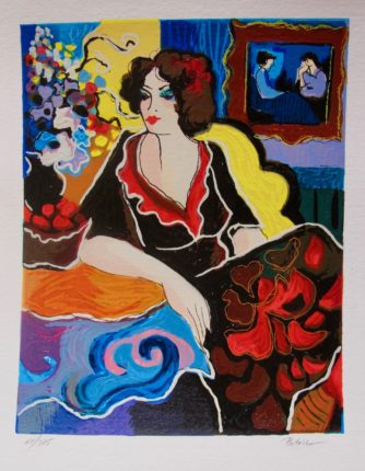 Patricia Govezensky RACHEL Hand Signed Limited Edition Art Serigraph