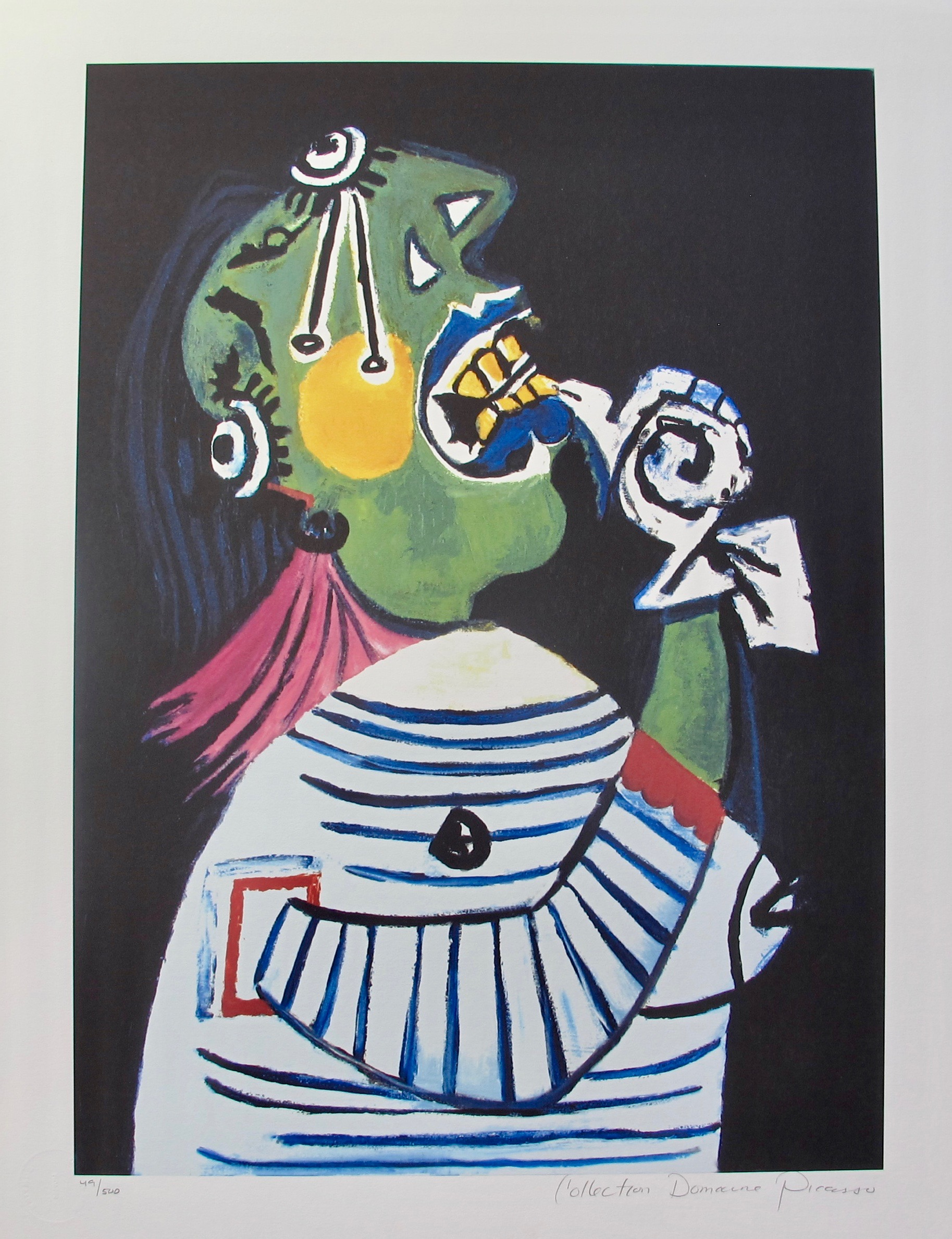#23 WOMAN IN DISTRESS Pablo Picasso Estate Signed Giclee