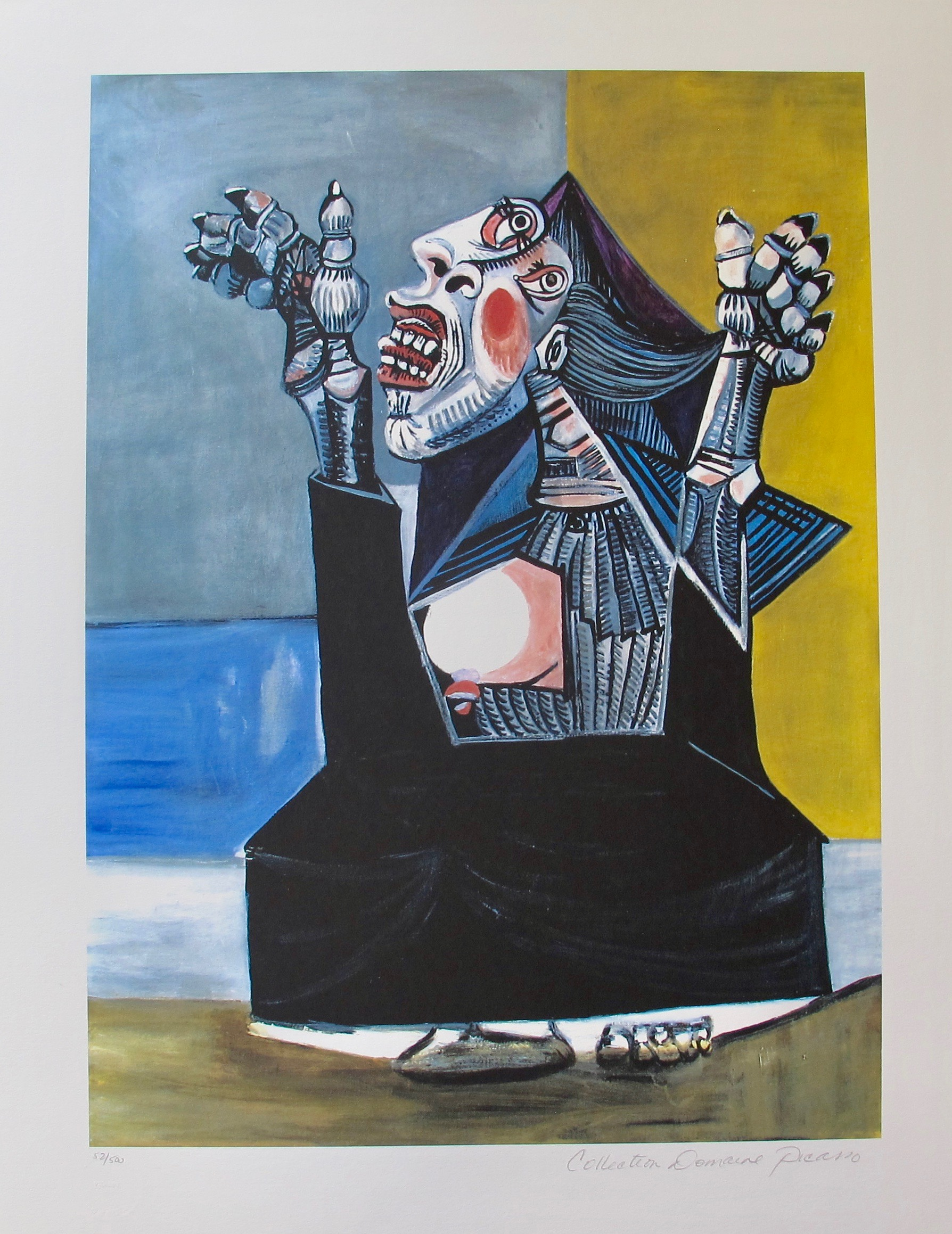 #25 THE SUPPLIANT Pablo Picasso Estate Signed Giclee