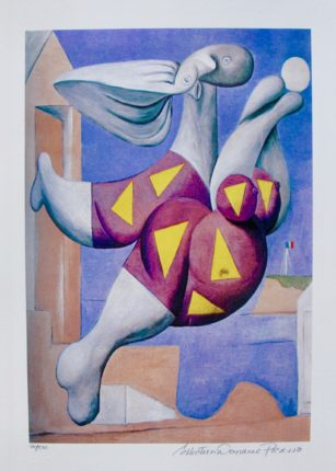 Pablo Picasso BATHER WITH BEACH BALL Estate Signed Limited Edition Small Giclee