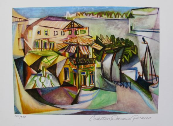 Pablo Picasso CAFE ROYAN Estate Signed Limited Edition Giclee